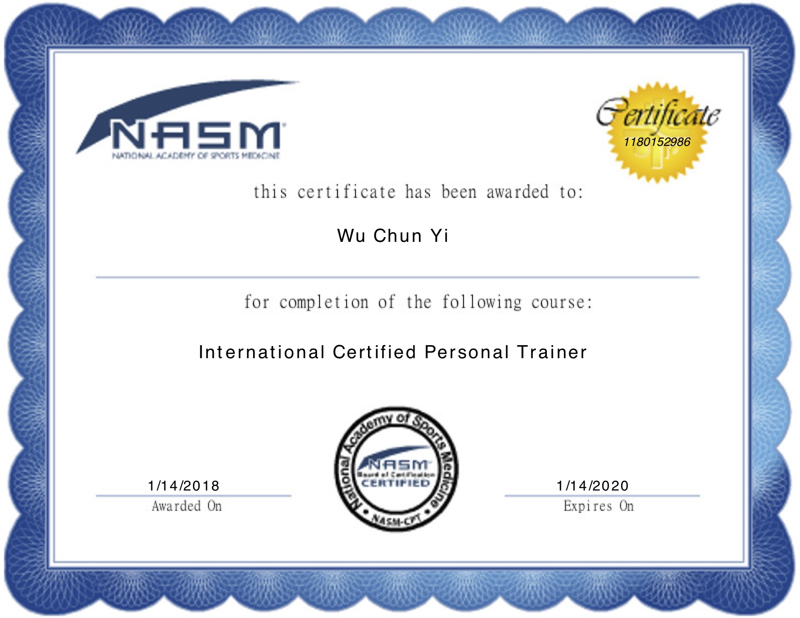 NASM-CPT